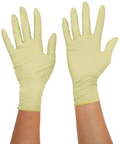 Kimtech Science Handschuhe mit langer Manschette speziell für Kulturen aus Latex, Größe S, 50 Stück