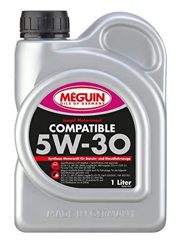 Meguin 6561 megol Motoröl Compatible SAE 5W-30, 1 L