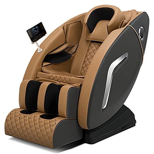 ComfyChairs Mosca – Poltrona massaggiante premium – Massaggio completo del corpo, Shiatsu, display LCD, Full Body Scan, funzione termica, Zero Gravity, Bluethooth
