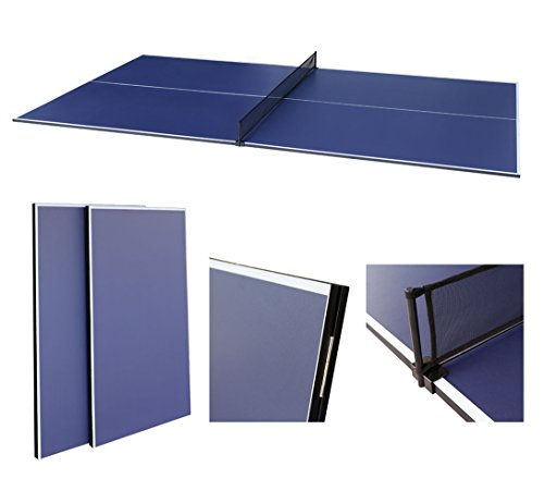 Great Features Of hlc 9FT Folding Table Tennis Conversion Top