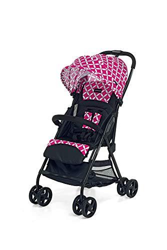 Foppapedretti Più Leggero Passeggino SuperLeggero e Compatto, Oval Pink