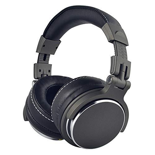 SZKQN Auriculares con Cable para Juegos Esports con Control de Audio Completo y Sonido Espacial THX y ergonomía Avanzada-Grey