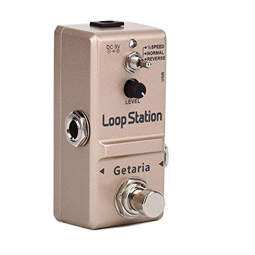 『Getaria Looper Station Effect Pedal ルーパー USB ギターエフェクトペダル 無制限 10分録音 トゥルーバイパス』の3枚目の画像
