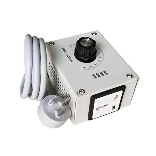MASUNN 4000W AC 220V Controlador De Voltaje Variable para El Ventilador De Velocidad del Motor...