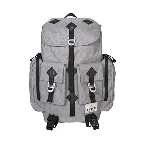 TETON Sports Juno Canvas Backpack for Travel; Daypack for School, Work and Hiking