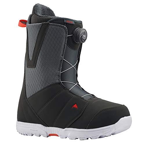 Burton Moto BOA Snowboardboots 2020 - Gray/Red Gr. 42.5 (US 9.5)