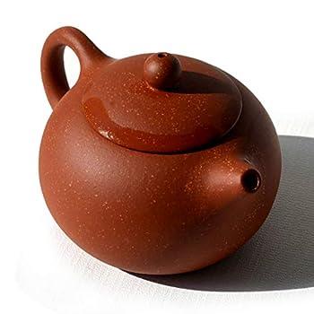 Yxhupot Teapot 5oz Chinese Yixing Dragon Color Zisha XIshi Beauty Pots Infusers Loose Tea