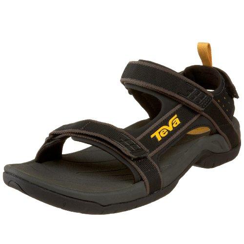 Teva Men's Tanza Sandal,Black,10 M US