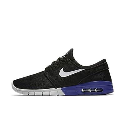 Nike Men's Stefan Janoski Max Black/White/Deep NightSneakers - 4.5 M US