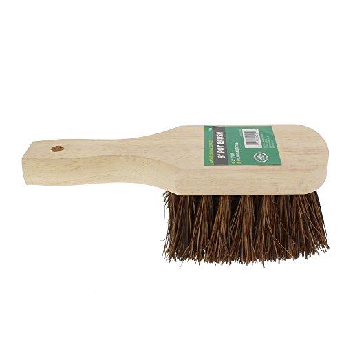 HB Smith Brush Pot 8' Palmyra Fibre, 8 Inches