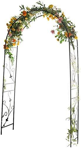LLDKA Arco jardín, Postes de Soporte para Plantas de jardín, cenador del jardín del Metal Manguera de Acero engrosadas por Varias Decoraciones