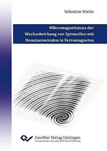 Mikromagnetismus der Wechselwirkung von Spinwellen mit Domänenwänden in Ferromagneten