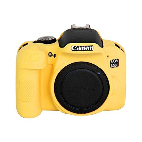 MECAWEB CUSTODIA SILICONE TPU COVER CASE PER FOTOCAMERA Canon EOS 800D