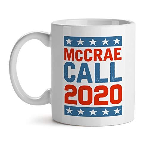 Mccrae Call 2020 Election Usa America - Inspirierendes einzigartiges beliebtes Büro-Tee-Kaffeetasse-Geschenk