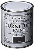 Rust-Oleum RO0070013G1 - Pintura De Chalky Finalizar Muebles - Grafito - 750Ml