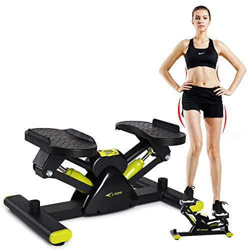 Learn More About L NOW Adjustable Mini Stair Stepper Exercise Equipment Step Machine