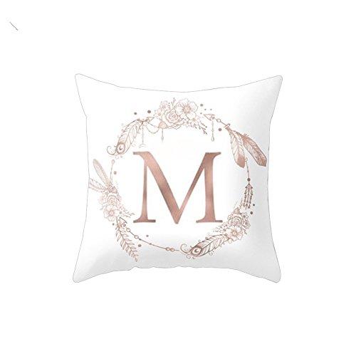 Bluelans Housse de coussin décorative pour canapé, lit, maison, voiture