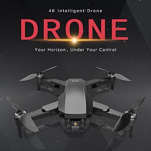 Goolsky RC-Drohne S19 GPS RC Drohne mit Kamera für Erwachsene RC Drohne mit 4K Kamera 5G WiFi Videoantenne FPV Quadcopter Smart Follow Mode Aufbewahrungstasche 2 Akku