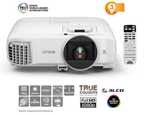 Epson EH-TW5600 Video - Proyector (2500 lúmenes ANSI, 3LCD, 1080p (1920x1080), 35000:1, 16:9, 762 - 7620 mm (30 - 300