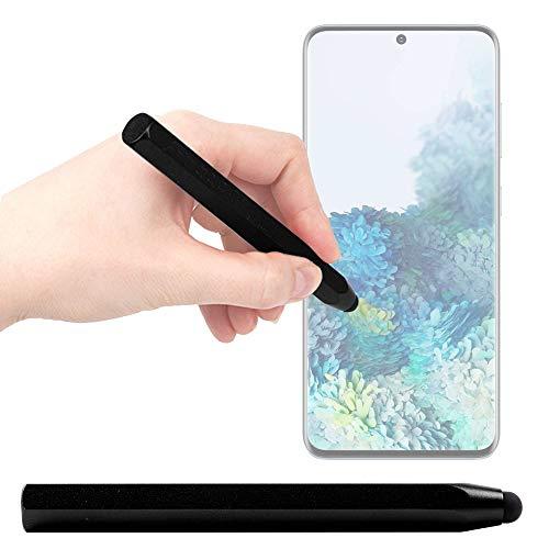DURAGADGET Lápiz Stylus Negro Compatible con Smartphone Samsung Galaxy S20 5G, Samsung Galaxy S20 Ultra 5G, Samsung Galaxy S20+ 5G - ¡Ideal para Mejorar La Precisión En Su Pantalla!