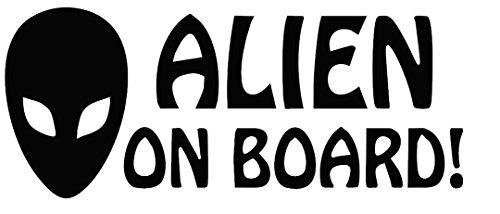 Alien On Board Maßnahmen 15,2x 7,6cm Auto Van-Biker-Aufkleber-Free P & P