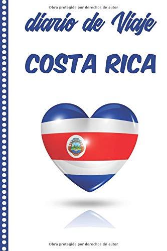 Diario de Viaje Costa Rica: Cuaderno Diario,Notebook 108 páginas ILUSTRADAS Libro de Actividades de Vacaciones a Rellenar, Libro de Seguimiento de Viajes, Regalo Para Ofrecer. Made in Spain.