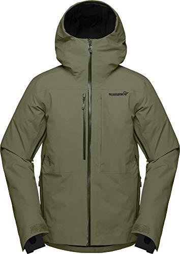Norrona M Lofoten Gore-Tex Insulated Jacket Grün, Herren Gore-Tex Isolationsjacke, Größe M - Farbe Olive Night