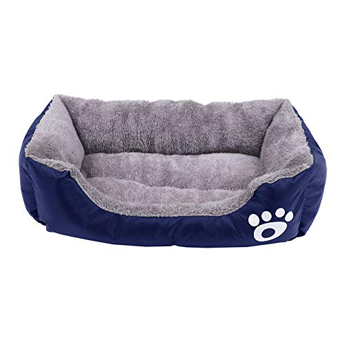 Homes for Pets Beds, for Medium and Small Dogs Cats, Blue, XS