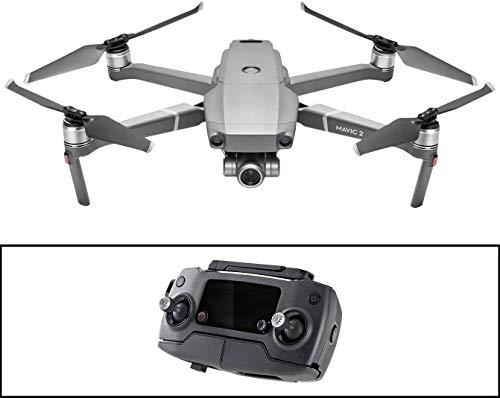 DJI Mavic 2 Zoom Drohne Quadrocopter mit 24-48mm Optischer Zoom Kamera Video 12MP 1/2.3 CMOS Sensor (EU Version) & - Mavic 2 Fly More Kit