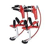 HUWENJUN123 Trampoli da Salto per Bambini/Bambini, Scarpe da Canguro, Esercizio di Fitness Oltre 10 Anni, (66-110 libbre / 30~50 kg)