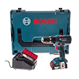 Bosch GSB 18-2-Li Plus - Taladro atornillador de percusión (18 V, 2 Ah)