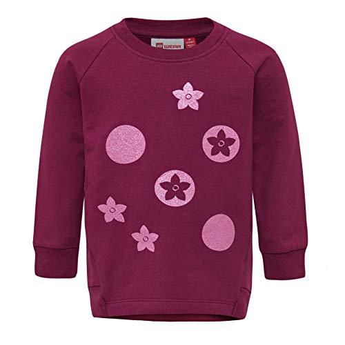 Lego Wear Lego Duplo LWTESSIE Sweat-Shirt, Violet (Bordeaux 383), 3 Ans Bébé Fille