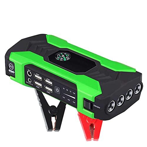 LITI 20000 mAh 12 V Portable Car Jump Starter, 400 A Peak Portable Charger Emergency, Car Jump Starter Power Bank, Battery Jump Starter Mit Sicherheitshammer, LED Batterieanzeige