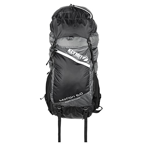 KLYMIT 12MSWh60D Motion 60 Backpack, Grey/Black, Medium/Large