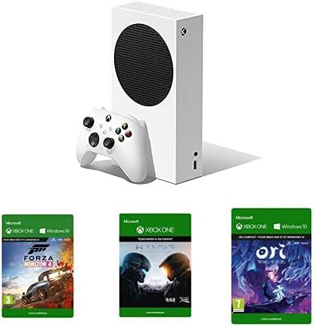 Console Xbox Série S + Forza Horizon 4 + Halo 5 + Ori & the Will of the Wisps (jeux digitaux)