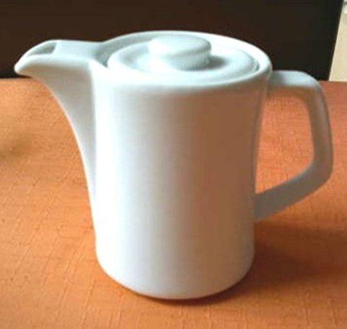 6 Kaffeekännchen 35 cl Hotelporzellan weiss Gastronomie Kännchen