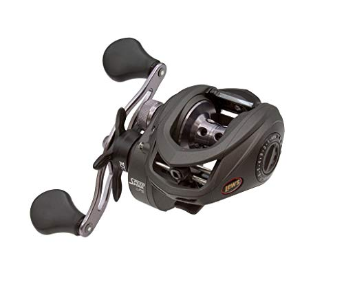 Lews Fishing SS1SA Speed Spool LFS Baitcasting Reel, 5.6: 1 Gear Ratio, 9Ss+1Rb Bearings, Right Hand