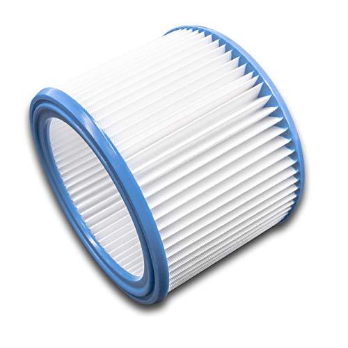 vhbw Filter passend für Bosch GAS 1200 L, GAS 15 L Professional, GAS 20 L SFC Industriesauger - Faltenfilter Patronenfilter Ersatzfilter Rundfilter