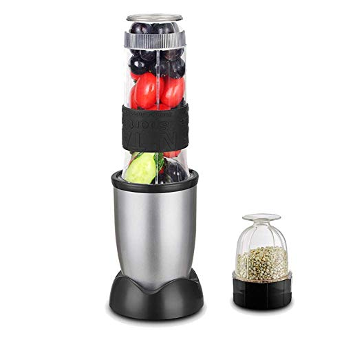 AKAMAS Portable fruit blender, portable cup blender with stainless steel blades Wide lens without BPA for whole fruit juicer Baibao