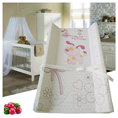 HBIAO Matelas Plan à Langer pour bébé, Protection de l'environnement Safety Oil Dirt Layer Diaper Table Lamp Cotton Soft Fournitures pour mères et Enfants,A
