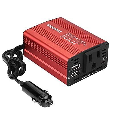 Buywhat 150W Car Power Inverter DC 12V to 110V AC Converter
