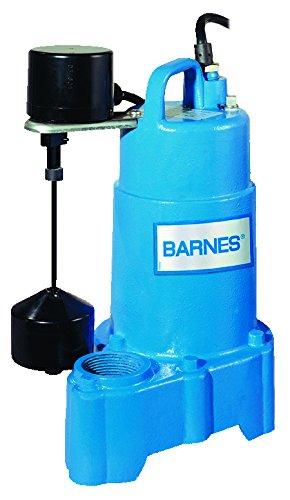 Barnes 112552 Model SP33VFX Submersible Iron Cast †Max 89% OFF Pump Classic Sump