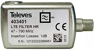 Televes 404411 Filtro lte cei 470-774mhz c21-58 blister