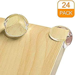 Dorisdoll transparentes Protectores de esquina para beb/és y ni/ños peque/ños con bordes suaves con adhesivo para muebles de mesa