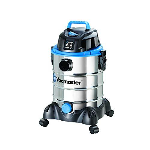 Vacmaster VQ607SFD Stainless Steel Wet & Dry Shop Vacuum