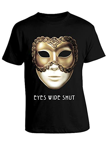 Tshirt Film Cult Eyes Wide Shut - Mask - Film Anni '90 - in Cotone