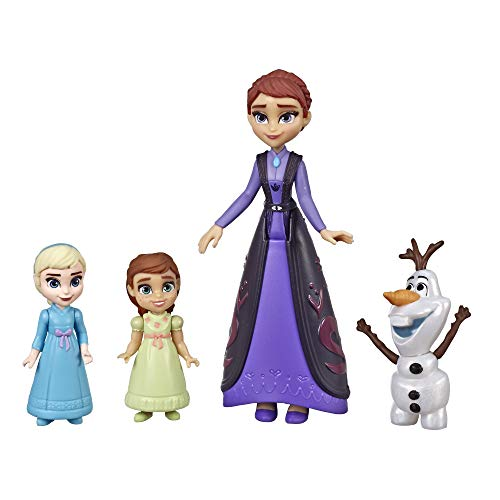 Disney Frozen Family Set Elsa & Anna Dolls with Queen Iduna Doll & Olaf Toy, Inspired by The 2 Movie