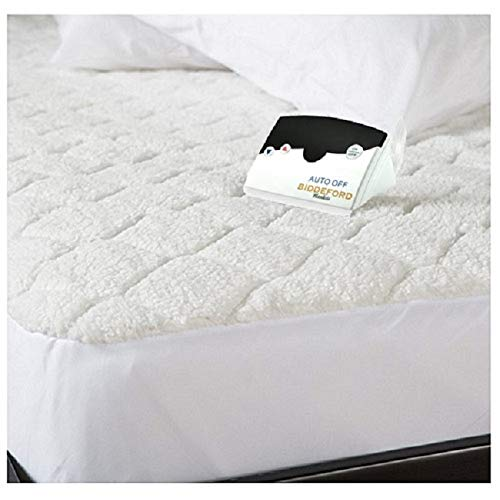 Pure Warmth by Biddeford Quilted Electric Heated Mattress...