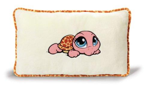 NICI 34854 - Kissen Schildkröte rechteckig 43 x 25 cm, rosa