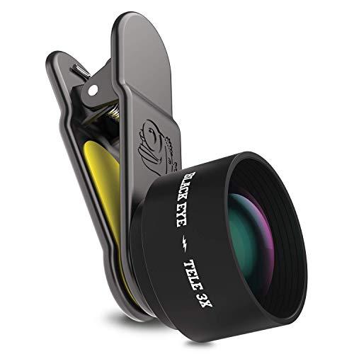 Black Eye TE002Pro Tele 3Smartphone Camera Lens - Black